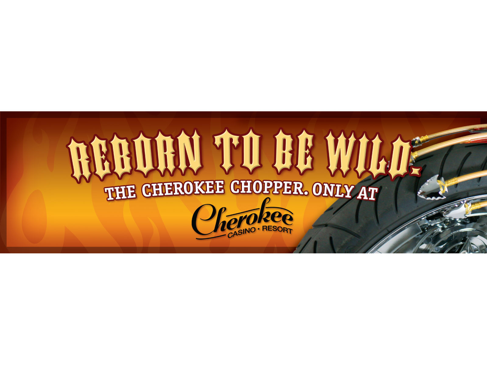Cherokee Casinos Outdoor Campaign