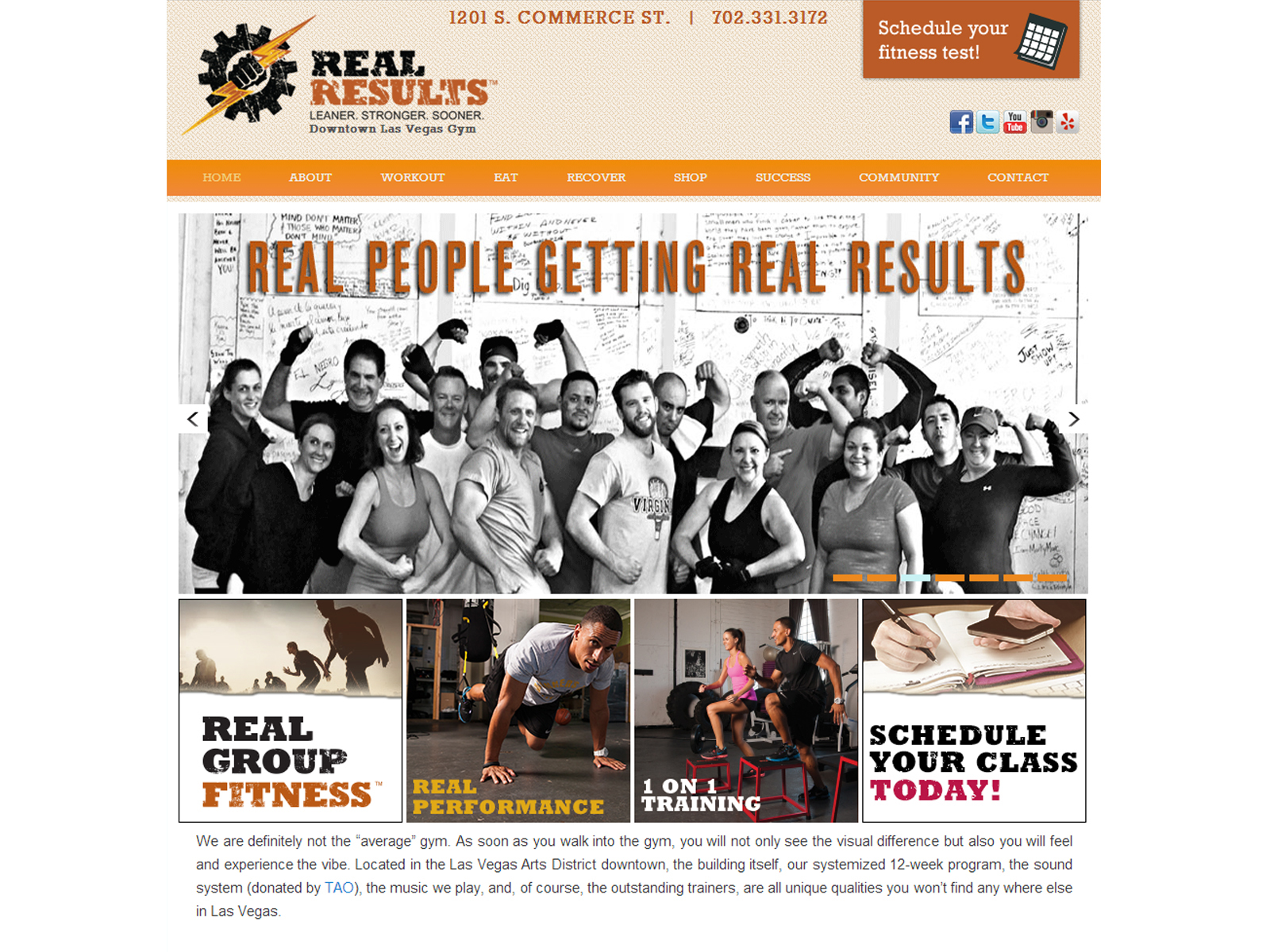 Real Results Website 01